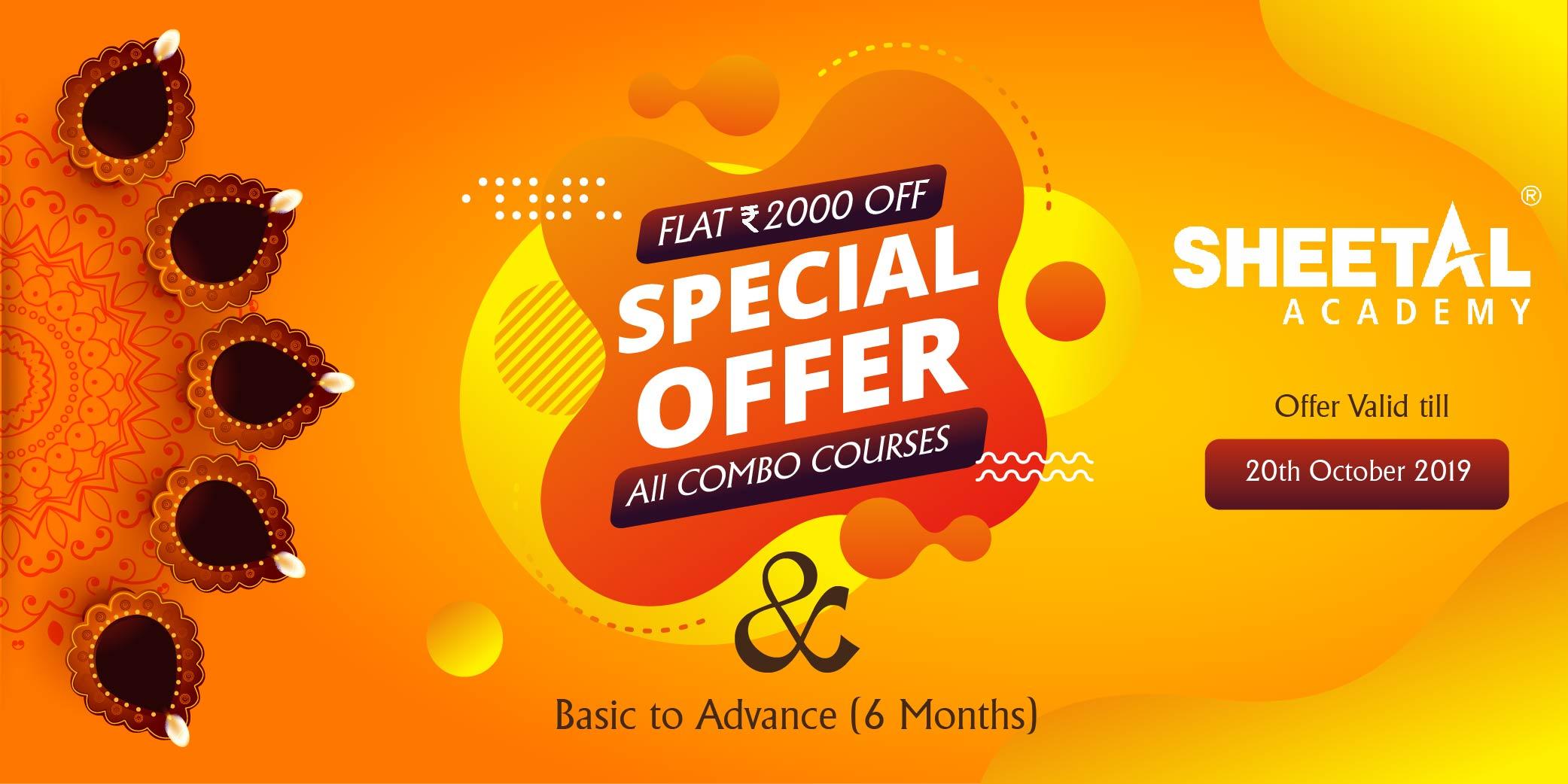 Best Diwali Combo Offer from Sheetal Academy